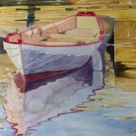 "Gloucester Skiff | Watercolour on Paper | 11"" x 15"""