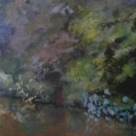 "Hortensia (Wild Hydrangea) Brasil | Pastel | 12"" x 18"" | $260"