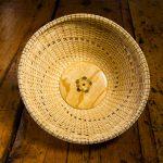 "Spiral Woven Bowl | Base by Ron Ball | 7"" x 11"" | $75"
