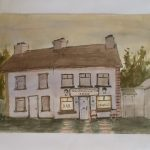 "Cross Tavern | Watercolour | 12"" x 15"" 