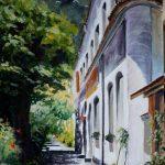 "Rua Caminhoá, Rio de Janeiro | Acrylic on Canvas | 18"" x 12"""