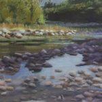 "Morning, Bighead River | Pastel | 8.5"" x 14.5"" | $260"