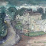 "Walter's Falls Rain | Watercolour | 18"" x 21"" | $500"