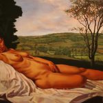 """The Queen's Valley Venus (after Giorgione) 