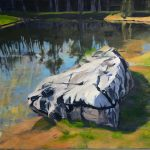"Reflection | Acrylic | 30"" x 18"" 